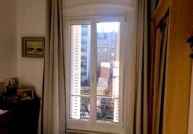 Fenêtre blanche pvc paris